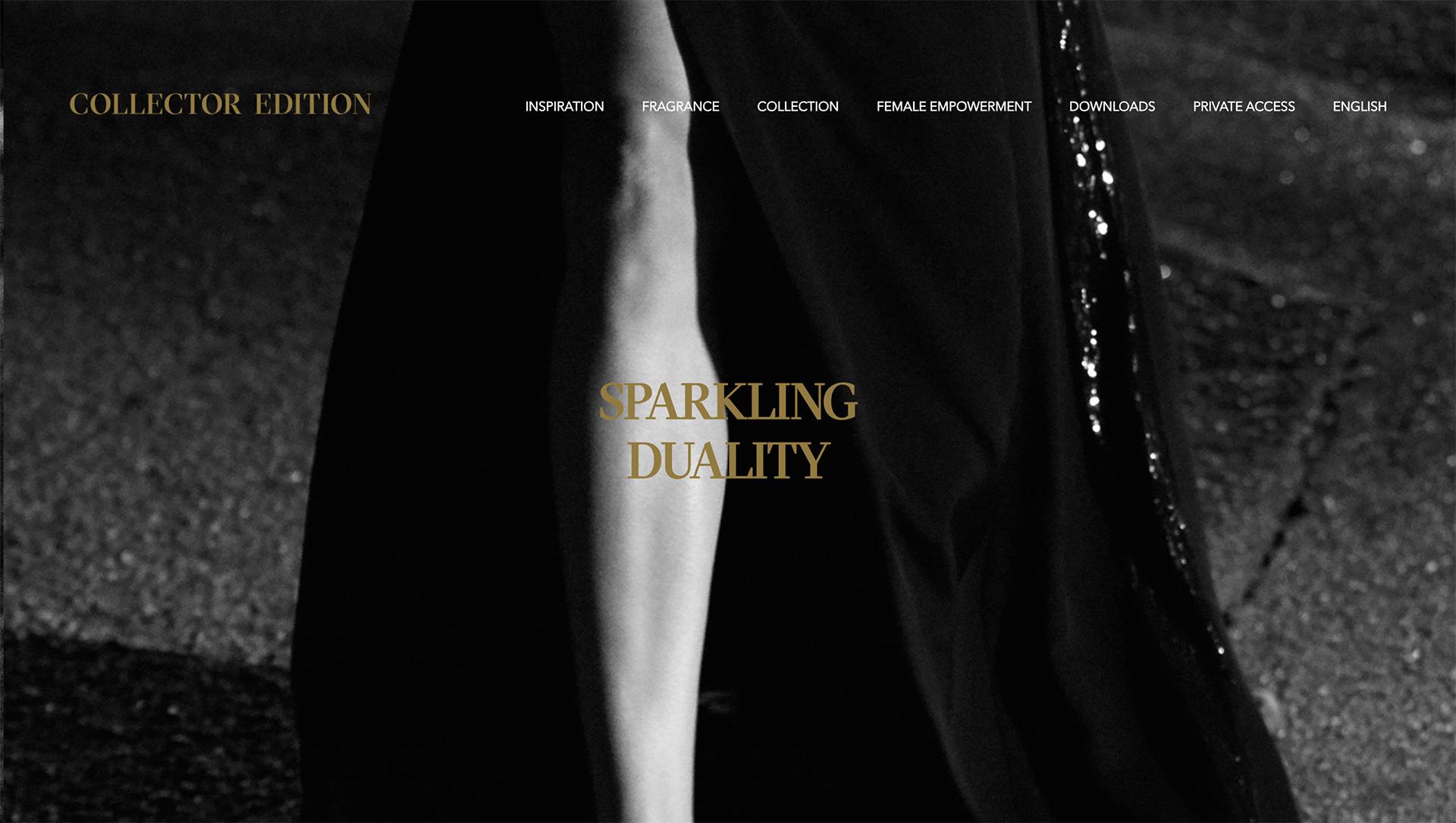 Press Site for Good Girl by Carolina Herrera