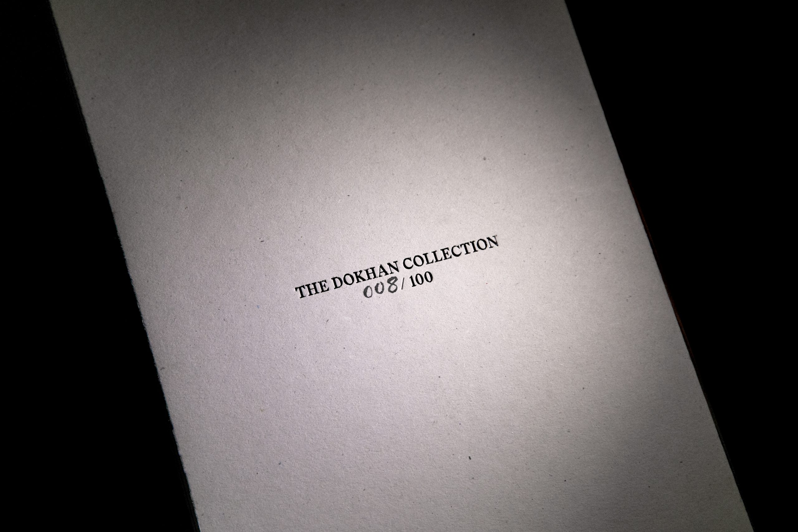 Book for The Dokhan Collection