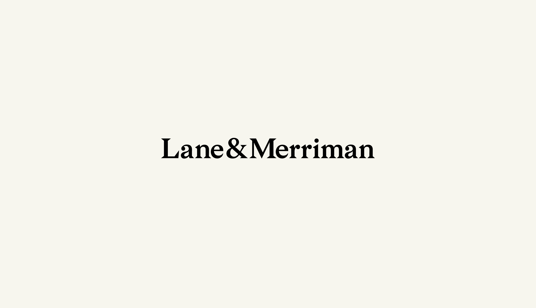 Brand Identity Lane & Merriman