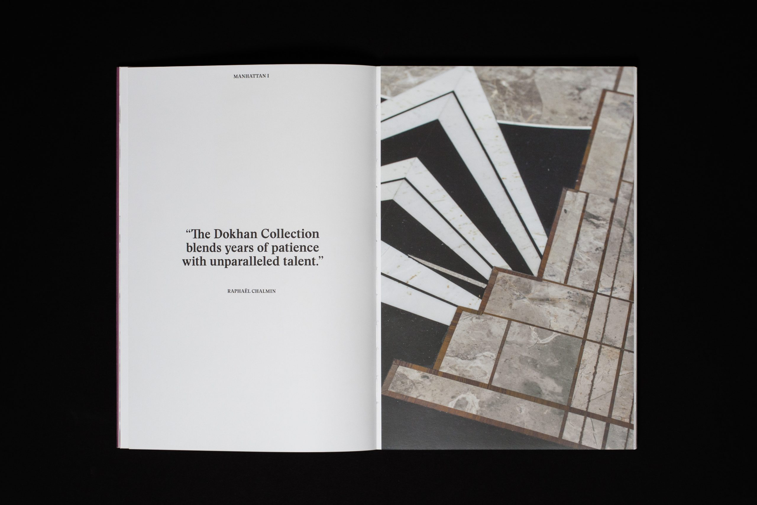 Copywriting for the book The Dokhan Collection